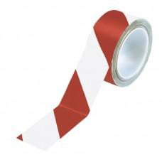 Bandă adezivă pentru marcare — Alb/Roşu