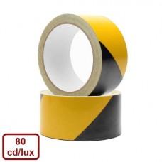 Bandă reflectorizantă adezivă (galben/negru) (Ref.Ultra)