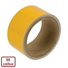Bandă reflectorizantă adezivă (galben) (Ref.Standard)