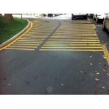 Bandă adezivă pentru marcarea parcării
