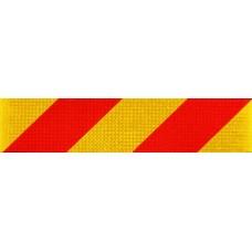 Benzi reflectorizante pentru identificarea vehiculelor (stânga)