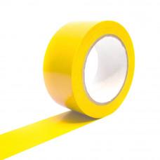 Bandă adezivă pentru marcare, 5cm x 25m, galben