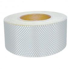 Bandă adezivă reflectorizantă pentru autovehicule (alb) — 5cm x 50m
