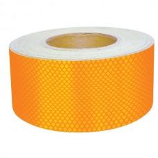 Bandă adezivă reflectorizantă pentru autovehicule (galben) — 5cm x 50m