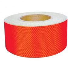 Bandă adezivă reflectorizantă pentru autovehicule (roșu) — 5cm x 50m
