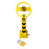 Blocator parcare formă sferică închidere cu cheie
