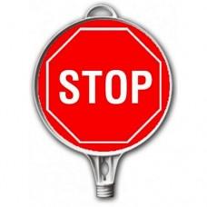 Stop — Indicator rutier din plastic