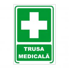 Trusa medicala — semn din plastic