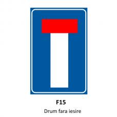 Drum fără ieșire — Indicator rutier