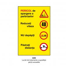 Lucrări de tratamente ale suprafeței părții carosabile — Indicator rutier