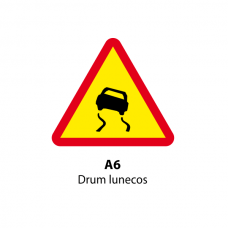 Drum lunecos — Indicator rutier