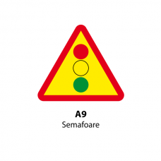 Semafoare — Indicator rutier