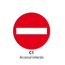 Accesul interzis — Indicator rutier