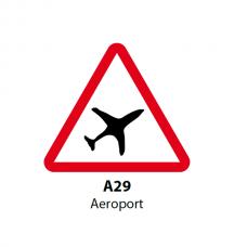 Aeroport — Indicator rutier