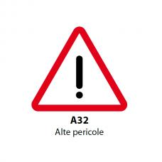 Alte pericole — Indicator rutier