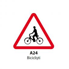 Biciclisti — Indicator rutier