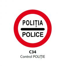 Control POLIȚIE — Indicator rutier