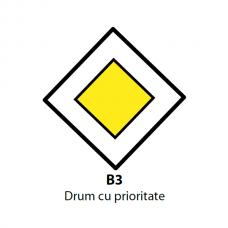 Drum cu prioritate — Indicator rutier