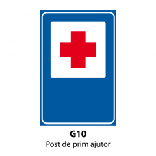 Post de prim ajutor — Indicator rutier