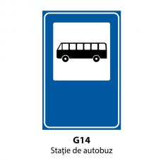 Staţie de autobuz — Indicator rutier