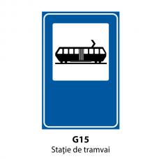 Staţie de tramvai — Indicator rutier