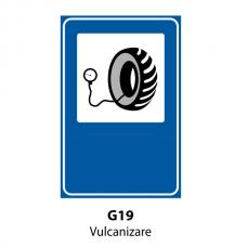 Vulcanizare — Indicator rutier