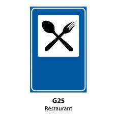 Restaurant — Indicator rutier