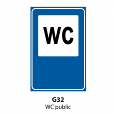 WC public — Indicator rutier
