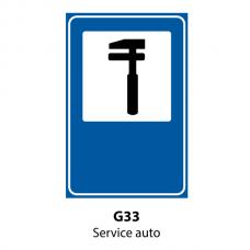 Service auto — Indicator rutier