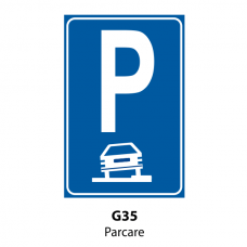 Parcare — Indicator rutier