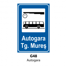 Autogară — Indicator rutier
