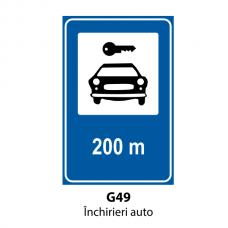 Închirieri auto — Indicator rutier