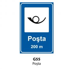 Poşta — Indicator rutier