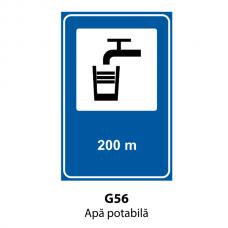 Apă potabilă — Indicator rutier