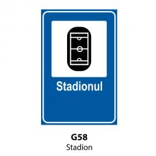 Stadion — Indicator rutier