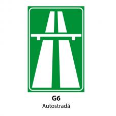 Autostradă — Indicator rutier