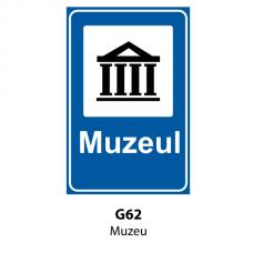 Muzeu — Indicator rutier