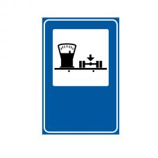 Cântar pentru autovehicule — Indicator rutier