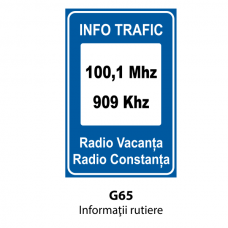 Informaţii rutiere — Indicator rutier