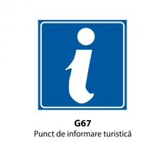 Punct de informare turistică — Indicator rutier