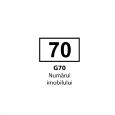Numărul imobilului — Indicator rutier