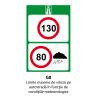Limite maxime de viteza pe autostrada in functie de conditiile meteorologice
