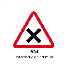 Intersecţie de drumuri — Indicator rutier