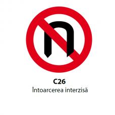 Întoarcerea interzisă — Indicator rutier