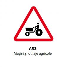 Maşini şi utilaje agricole — Indicator rutier