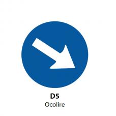Ocolire — Indicator rutier (D5)