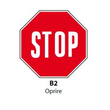 Oprire — Indicator rutier
