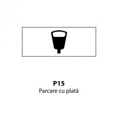 Parcare cu plată — Indicator rutier