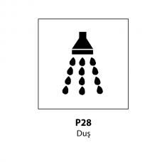 Duş — Indicator rutier