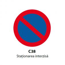 Staţionarea interzisă — Indicator rutier